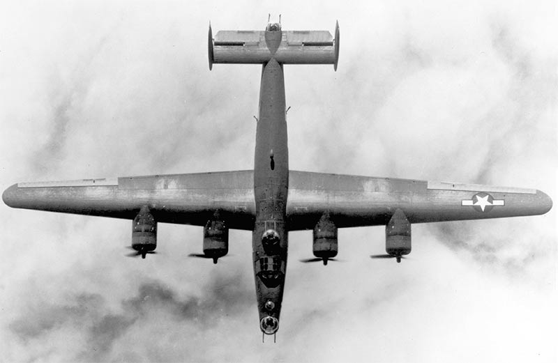 Американский бомбардировщик B-24 «Либерейтор»