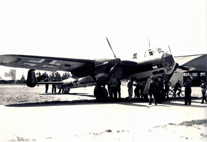 Бомбардировщик Dornier-215