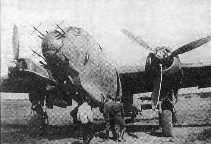 Do-217 используемый как ночной истребитель