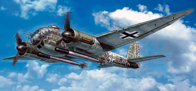 Бомбардировщик Юнкерс Ju-188