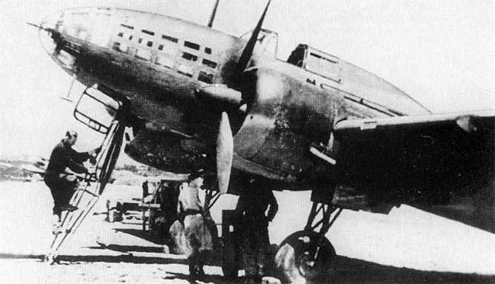 Ил-4 на аэродроме
