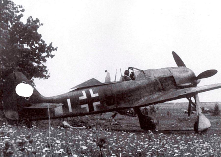 FW-190 перед вылетом