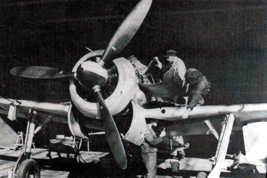FW-190A-1, отладка систем перед самым первым полетом.