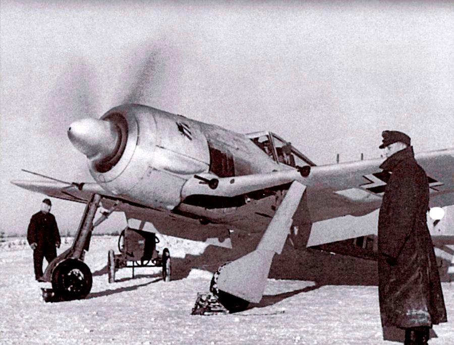 FW-190A-4 под Ленинградом (1942 г.)