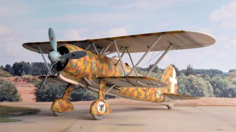 Истребитель Fiat CR.42 «Falco» (Италия)