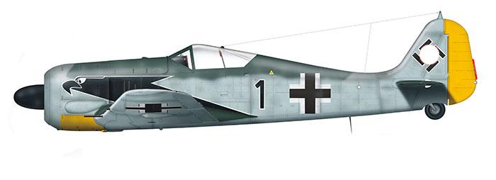 Немецкий истребитель второй мировой войны Фокке-Вульф FW-190