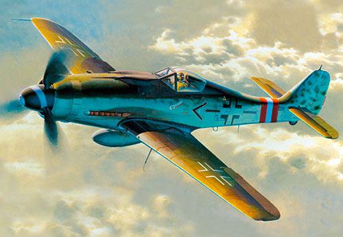 Истребитель Фокке-Вульф FW-190 (Германия)
