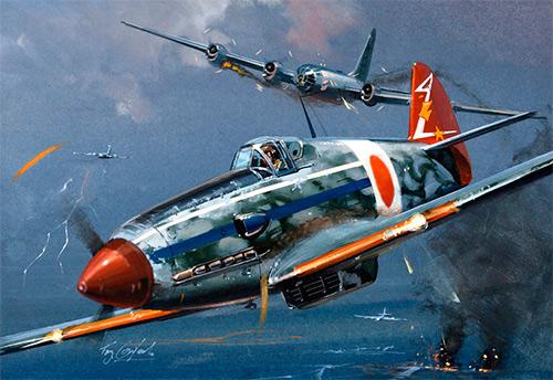 Истребитель Ki-61 «Хиен» (Кавасаки)