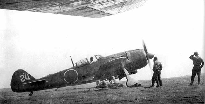 Истребитель Ki-84 'Hayate'