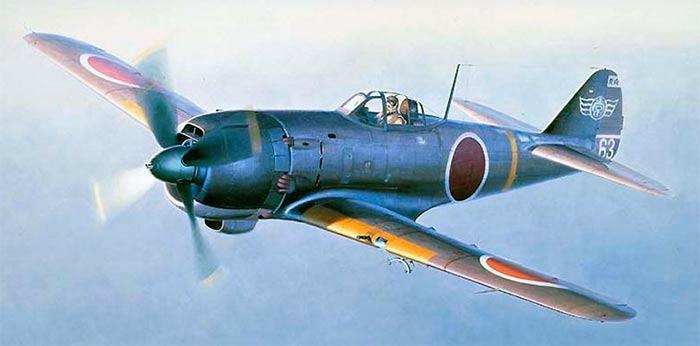 Истребитель Ki-84 «Hayate» фирмы «Накадзима»