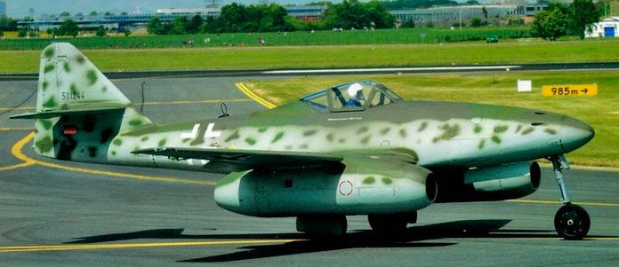 двигатели мессершмитта Me-262.
