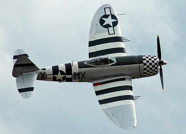 Истребитель P-47 'Тандерболт'
