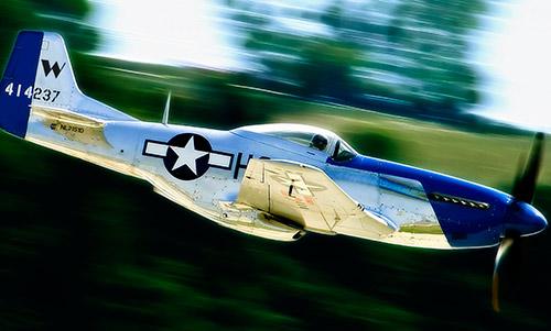 Истребитель P-51 «Мустанг»