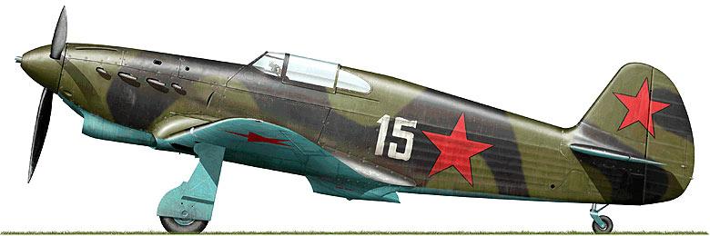 Истребитель Як-1 ОКБ Яковлева