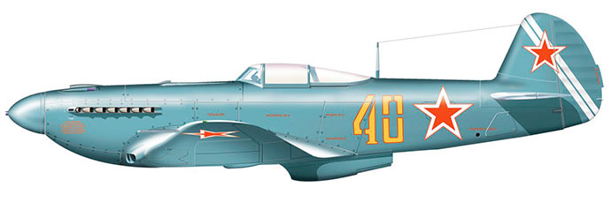 Истребитель Як-9У