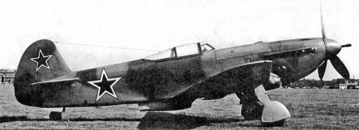 Истребитель Як-9П
