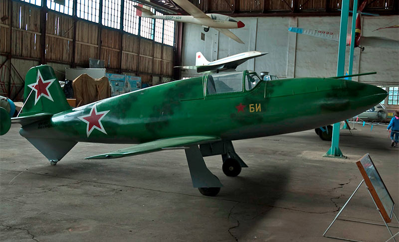 Макет истребителя БИ-1
