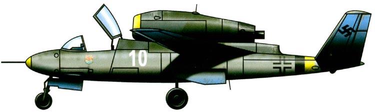He-162 даже с виду уже 'перерос' Вторую Мировую