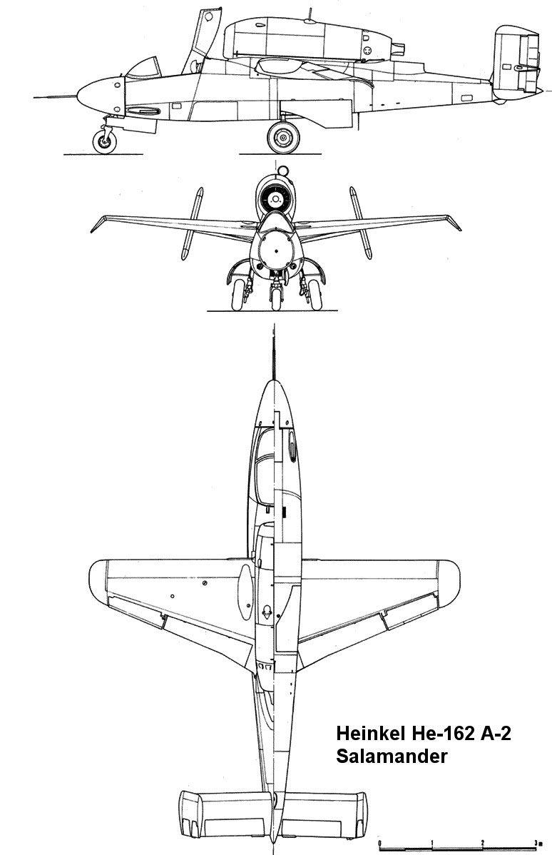 Чертеж He-162
