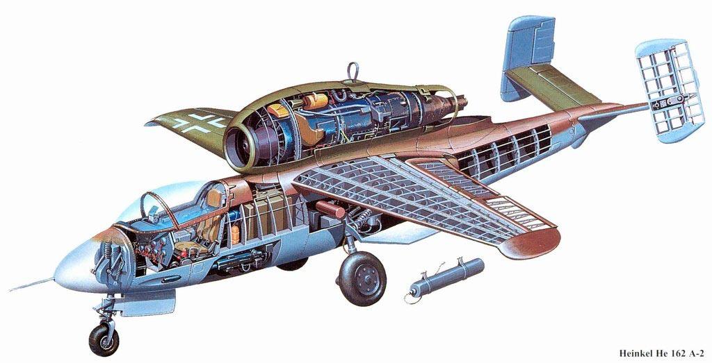 Реактивный истребитель He-162