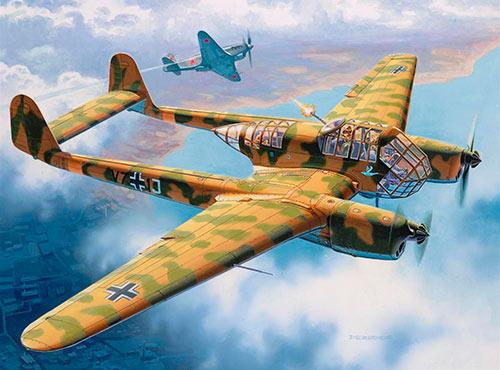 Самолет-разведчик Фокке-Вульф FW-189 (Германия)