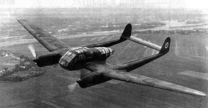 Немецкий авиаразведчик Фокке-вульф-189