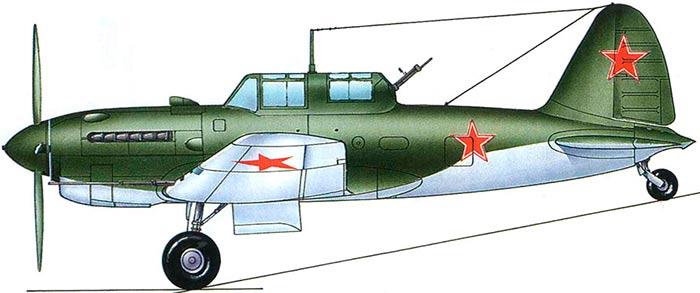 Су-6 с двигателем АМ-42