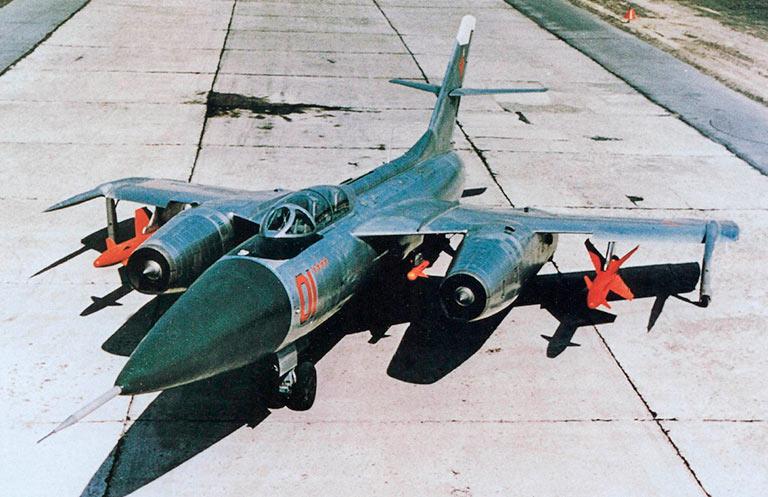 Як-28 в варианте перехватчика