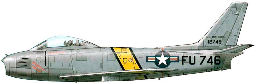 Американский истребитель F-86 «Сейбр»