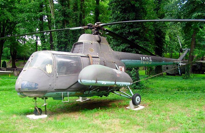 Польская фантазия на тему модификации Ми-1: SA-2 - отличался более вместительным фюзеляжем