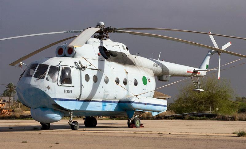 Многоцелевой вертолет-амфибия Ми-14