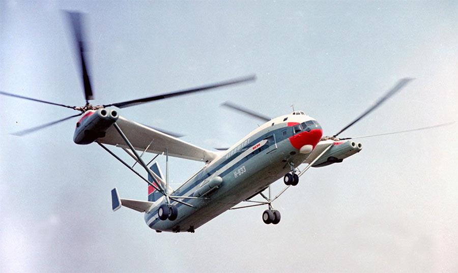 Транспортный вертолет Ми-12 (В-12)
