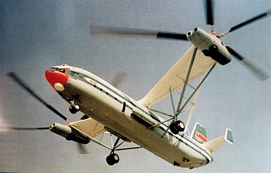 Советский транспортный вертолет В-12 (Ми-12)
