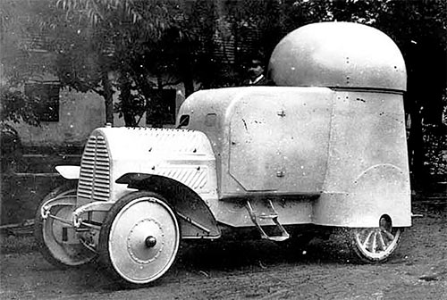 Бронеавтомобиль Austro-Daimler («Австро-Даймлер») Panzerwagen 1905 г.