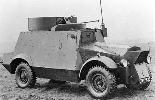Бронеавтомобиль «Morris» CS9 (Великобритания)