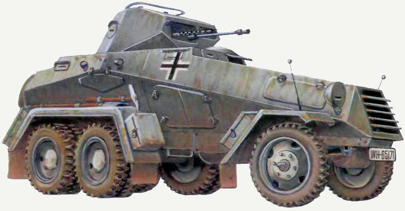Шестиколесный вариант бронеавтомобиля kfs-231