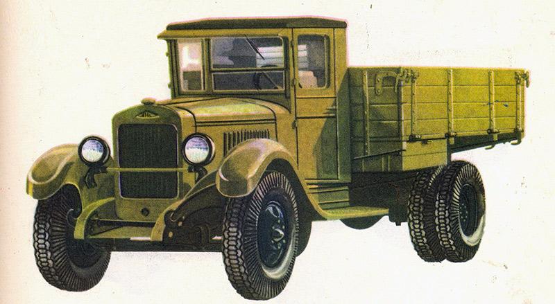 Грузовой автомобиль ЗИС-5, наследник АМО