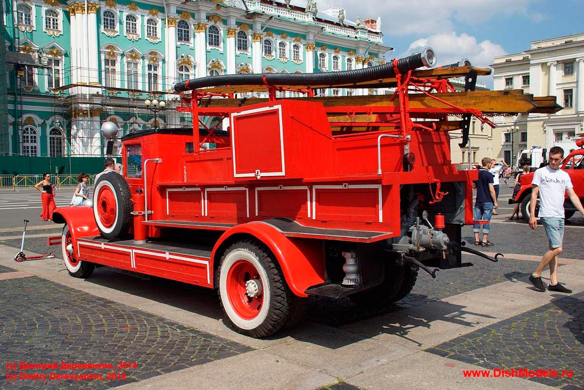ЗИС-11 - пожарный автомобиль на базе ЗИС-5