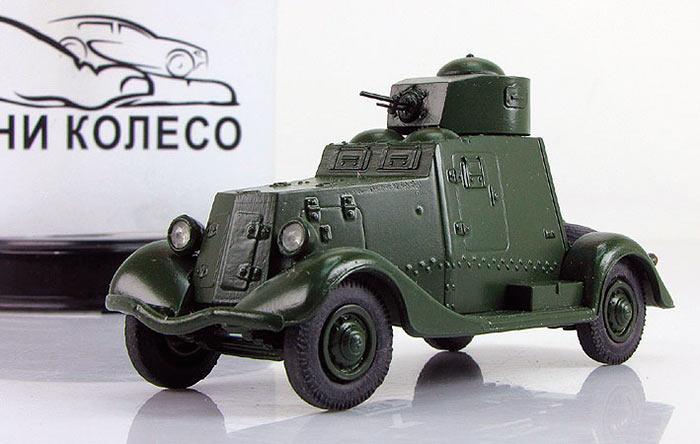 Легкие бронеавтомобили ФАИ и ФАИ-М