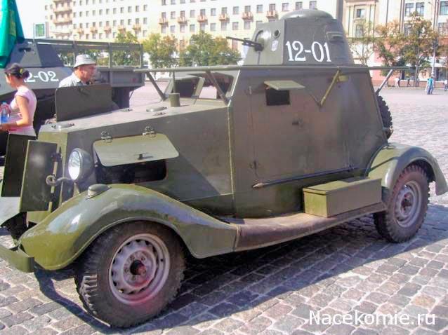 БА-20М почему-то с поручневой антенной