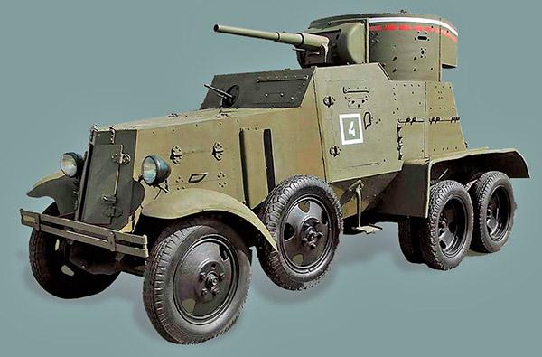 броневик БА-6