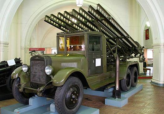 'Катюша' БМ-13 на базе ЗИС-6