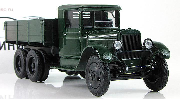 ЗИС-6, советский трехосный грузовик