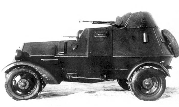 Бронеавтомобиль ЛБ-НАТИ (БА-НАТИ)