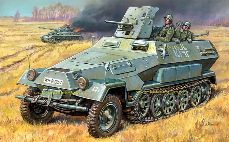 Бронетранспортер 'Hanomag' Sd.Kfz.251 с 37-мм пушкой