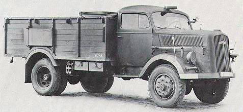 Грузовик Opel Blitz 3,6-6700A (Германия)
