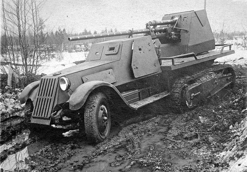 САУ ЗиС-41 - более удачливый родственник ТБТР Б-42