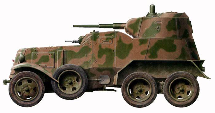 Средний <a href='https://arsenal-info.ru/b/book/1423892289/8' target='_self'>бронеавтомобиль БА</a>-10