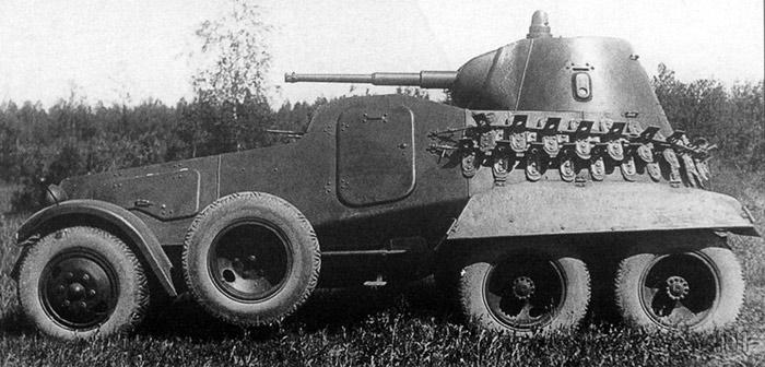 Тяжелый бронеавтомобиль БА-11