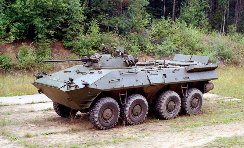 Бронетранспортер БТР-90 «Росток»